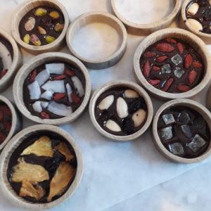 cerchi di cioccolato